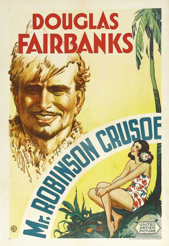 Poster do filme Robinson Crusoé Moderno