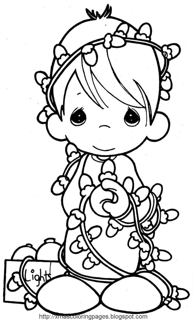 17 best images about christmas coloring pages pinterest, precious moments love coloring pages