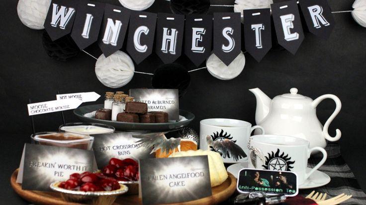 25 Best Supernatural Party Ideas On Pinterest
