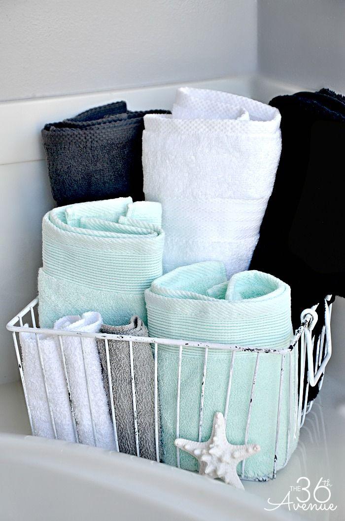 Best 25 Bathroom Towel Display Ideas On Pinterest Bath