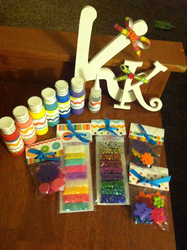 A birthday gift for a 10 year old girl diy letters and