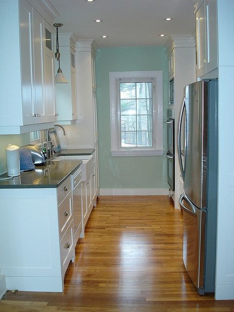 Galley kitchens, Kitchen lighting and Floor colors on ... on Modern:gijub4Bif1S= Kitchen Remodel  id=12853