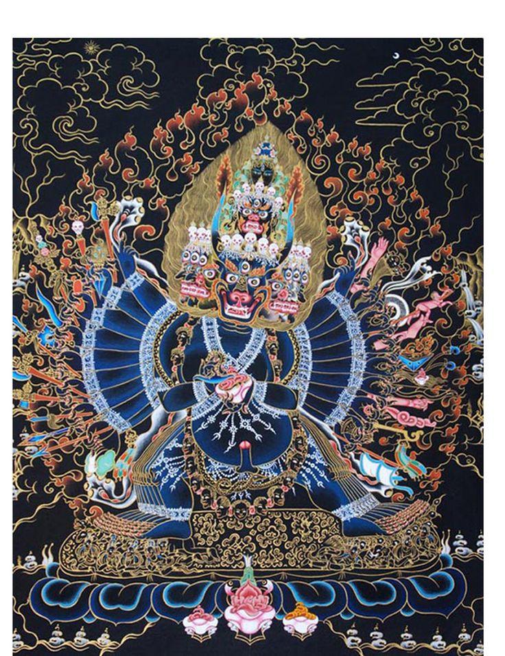 Yamantaka Thangka NORBULINGKA Art Experience NYC Www