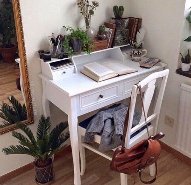 25 Best Ideas About Small White Desk On Pinterest Large