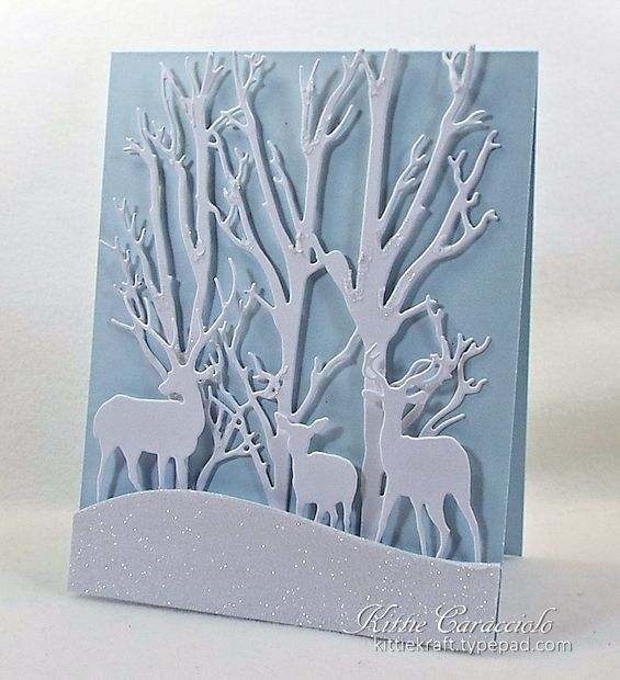 710 Best Images About Christmas Cards Deer On Pinterest