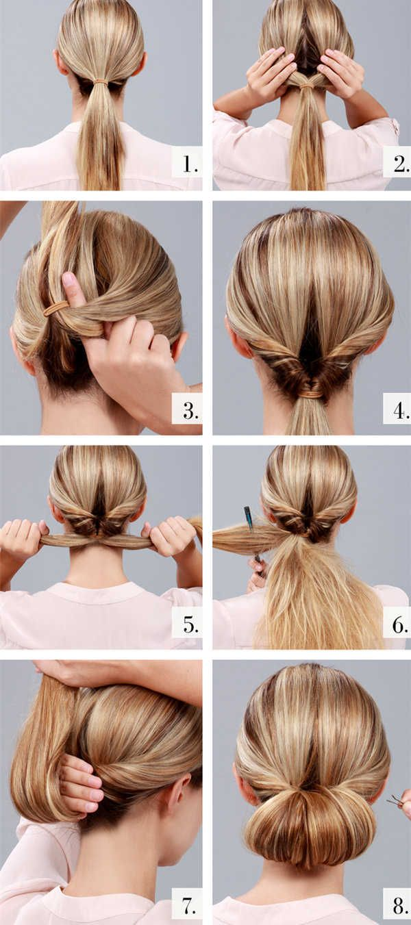 Simple Hairstyles With Straightener