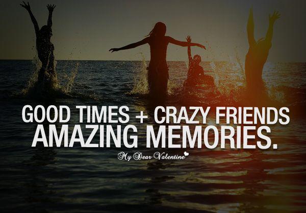 17 Best Crazy Friend Quotes On Pinterest