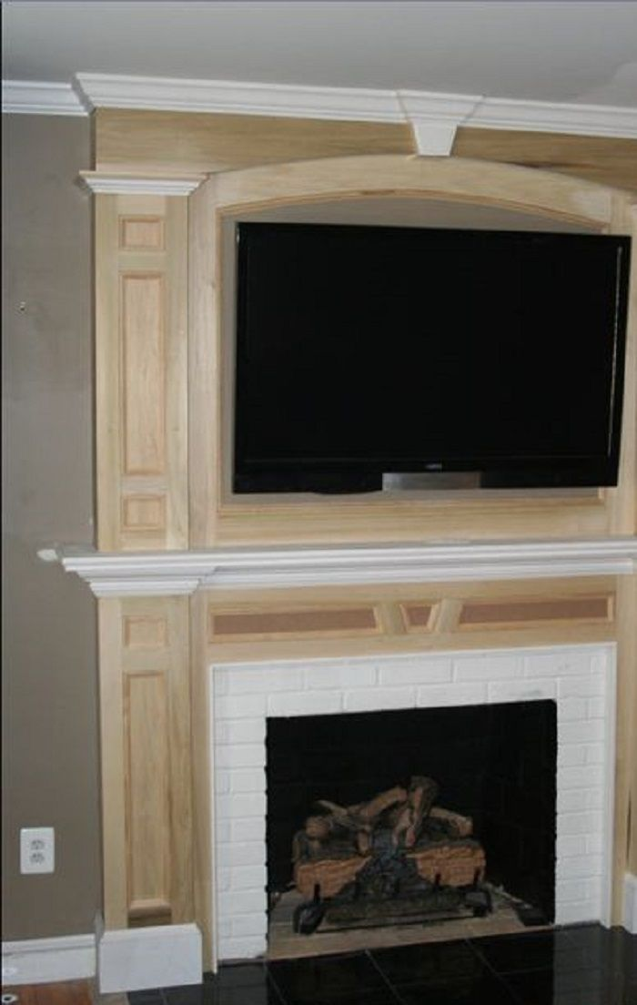 Fireplace Mantel Designs Showing Beautiful Accent