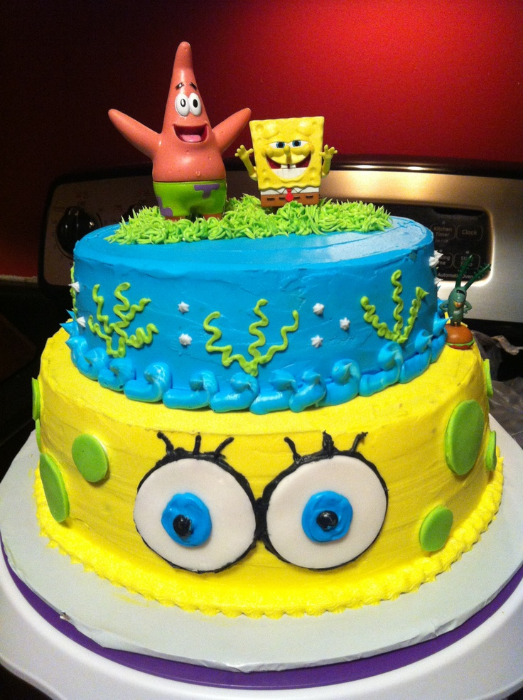 1000 Images About Spongebob Cakes On Pinterest