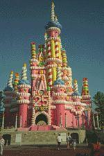Walt Disney World 25th Anniversary Castle Walt Disney