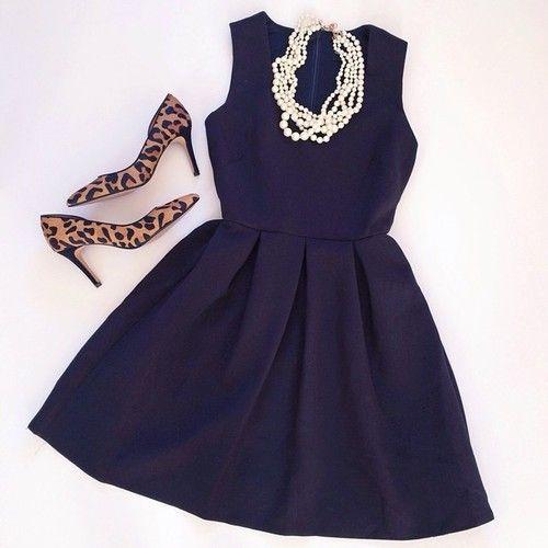 the little black dress:
