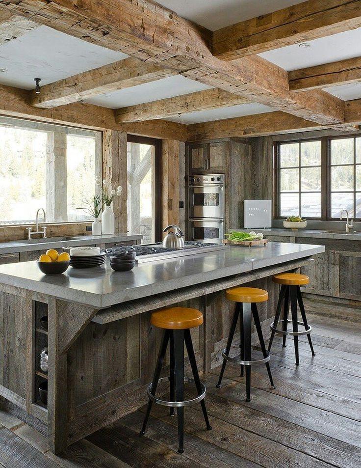 Modern rustic cottage | Kitchen Design | Pinterest ... on Rustic:mophcifcrpe= Cottage Kitchen Ideas  id=25264