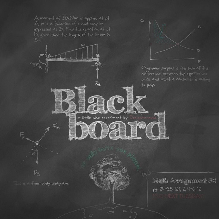 Blackboard Step By Step Instruction On Creating Realistic