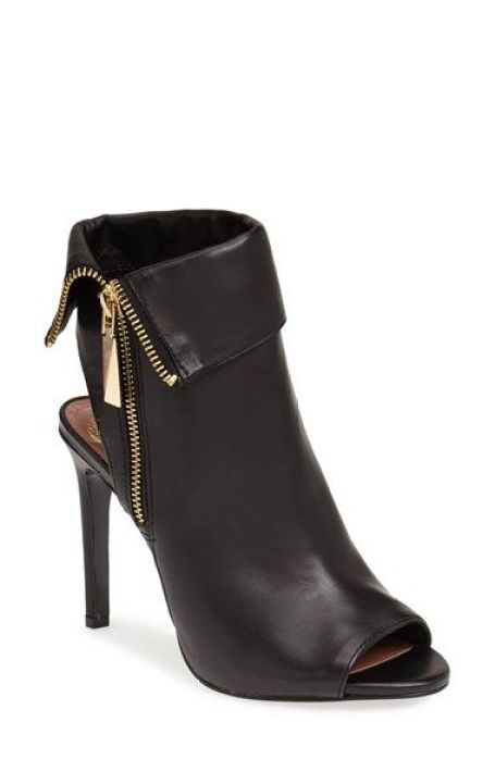 Loving this peep toe bootie - perfect for the Fall! @nordstrom