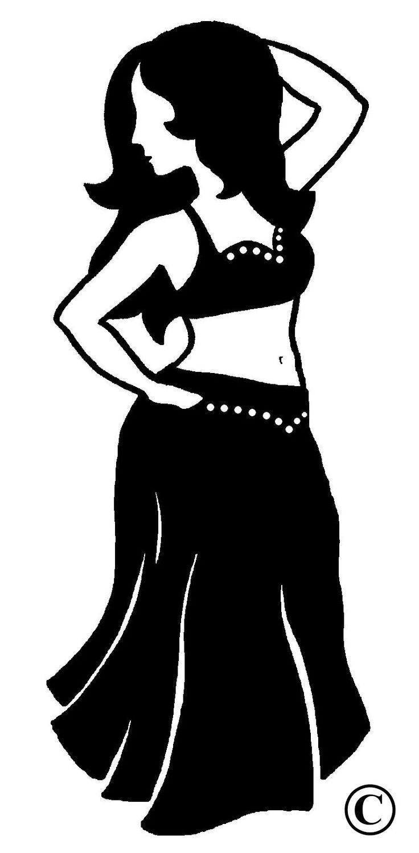 Dessin Dune Danseuse Orientale Logo De Lcole De Danse