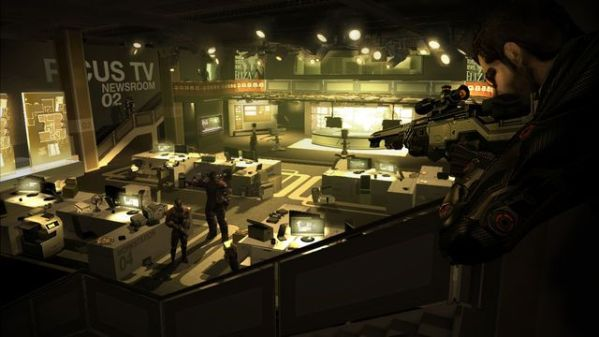 Deus Ex Human Revolution Game Screenshot