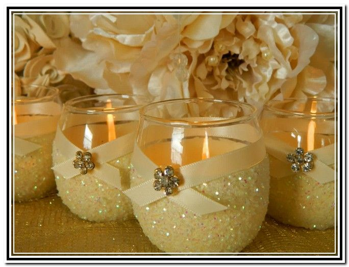 Yankee Candle Baby Shower Favors