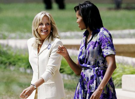 Image result for jill biden with people