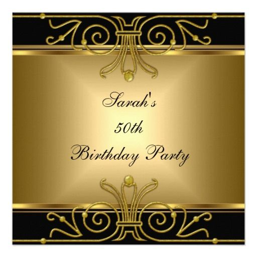 50th birthday invitation backgrounds