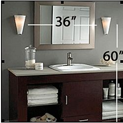 17 Best images about Bathroom Lighting Inspiration on ... on Height Of Bathroom Sconce Lights id=40086