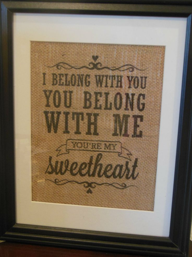Valentines+Day+Gift+for+him+or+her++I+belong+by+BurlapByEverAfter,+$25.00