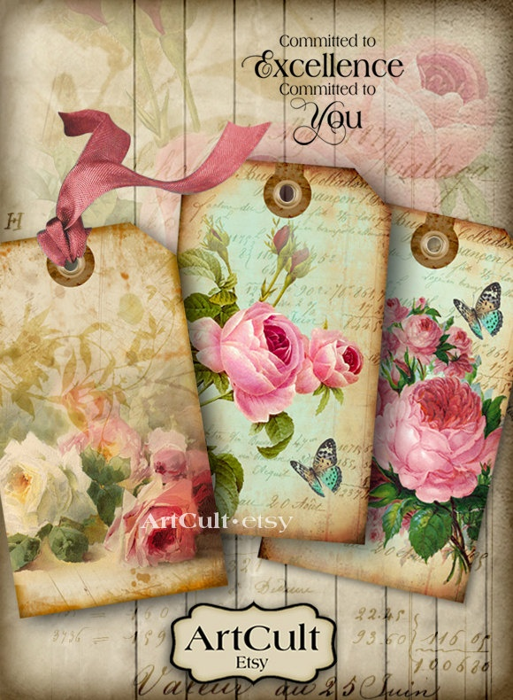 34 Best Images About Shabby Chic Printables On Pinterest