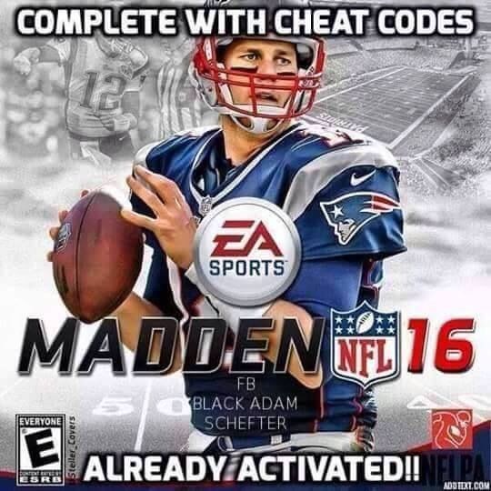 Madden 16 Complete With Cheat Codes Hate The Patriots