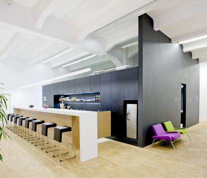Inside The Impact Hub Prague Coworking Office