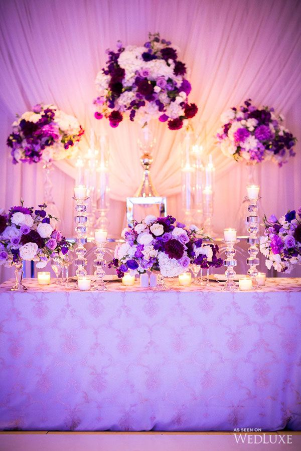 Purple White And Gold Wedding Invitationsjdi