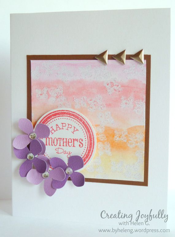 17 Best images about Mother's Day Papercrafting Ideas on ...