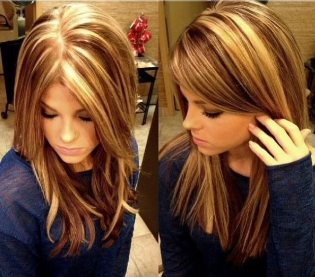 Image result for Highlights and Colouring of hair