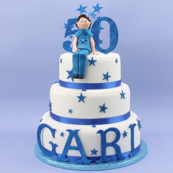 50th Birthday Cake Men S Cakes Pinterest Cakes 50th