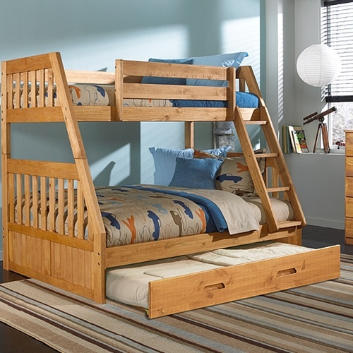 Rustic Bunk Bed Plans Twin Over Full WoodWorking