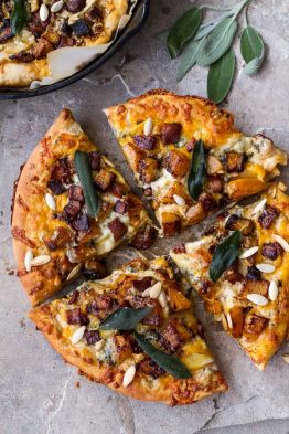 Image result for Winter Pizza with Squash and Radicchio