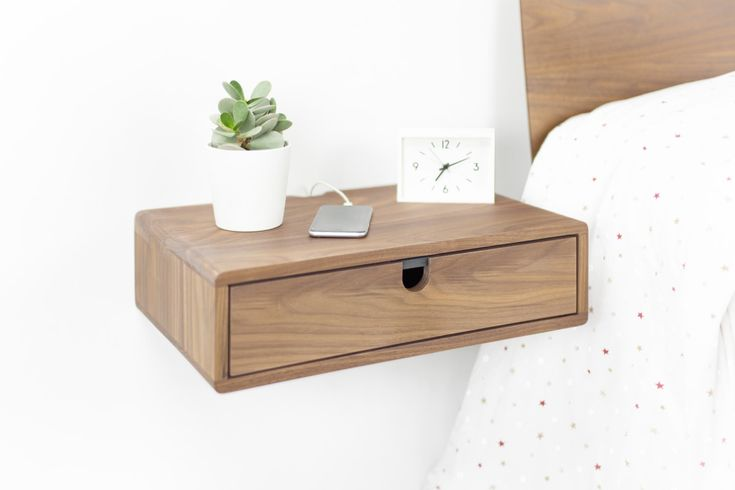 1000+ Ideas About Floating Nightstand On Pinterest