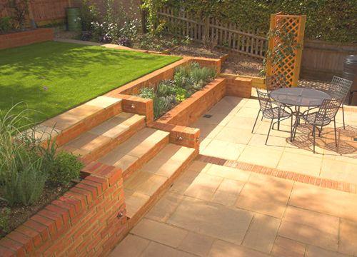 The 25+ best Sloped garden ideas on Pinterest on Garden Ideas For Sloping Gardens id=72267