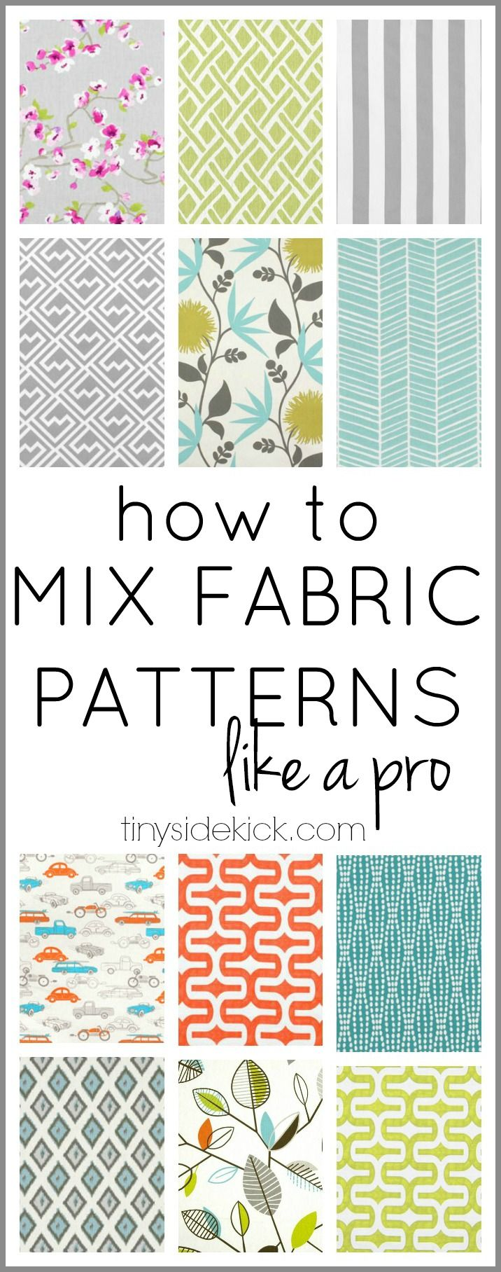 This is so much easier than I thought!  Just a few easy steps to mixing patterns.  It's going to help so much when it comes to
