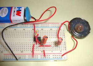 Ticking Bomb Sound Circuit using IC 555 | 555 Timer Circuits | Pinterest | Electronic circuit