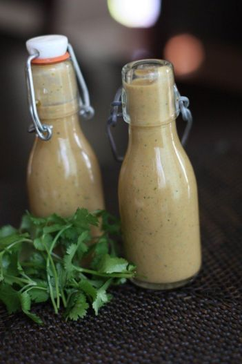 Almond Butter Thai Salad Dressing - Against All Grain: