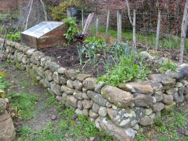 rock raised garden bed ideas 1000+ ideas about Rock Flower Beds on Pinterest   Flower