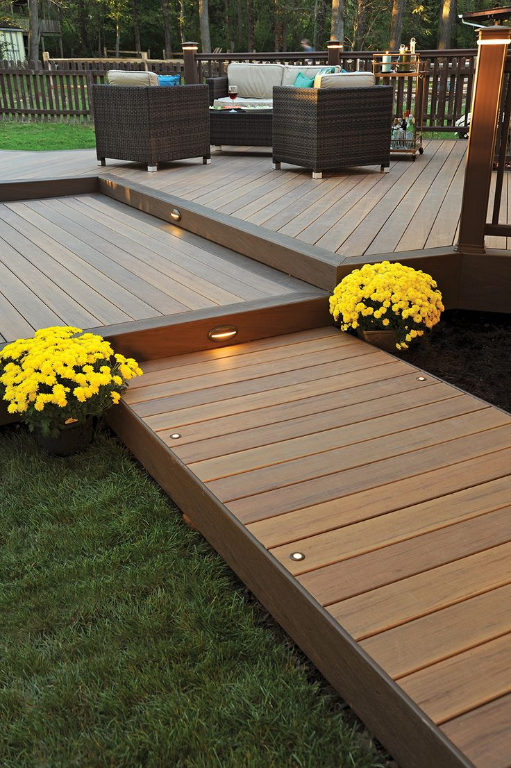 130 best images about deck steps porch steps and other on steps in discovering the right covered deck ideas id=66603