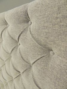 BEST TUTORIAL SO FAR: How to make a tufted upholstered headboard with fabric buttons with NO