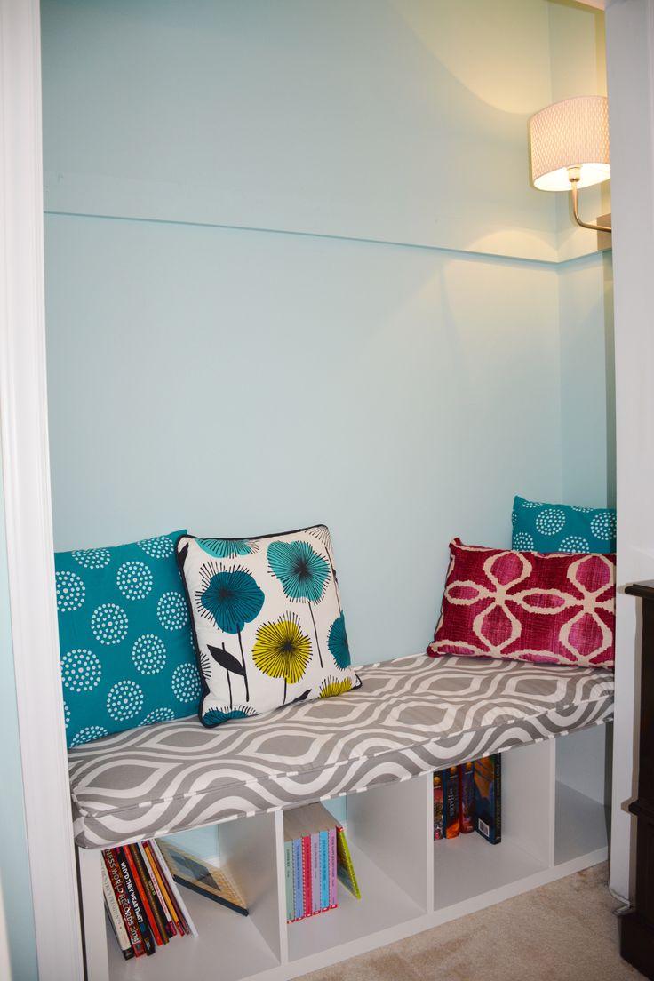 Ikea Kallax Bench Reading Nook Closet See Https Www