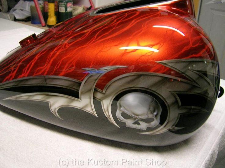 Custom Paint Job Harley Davidson Honda Yamaha Suzuki