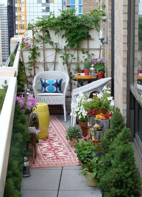 New Home Interior Design Small Balcony Decorating Ideas