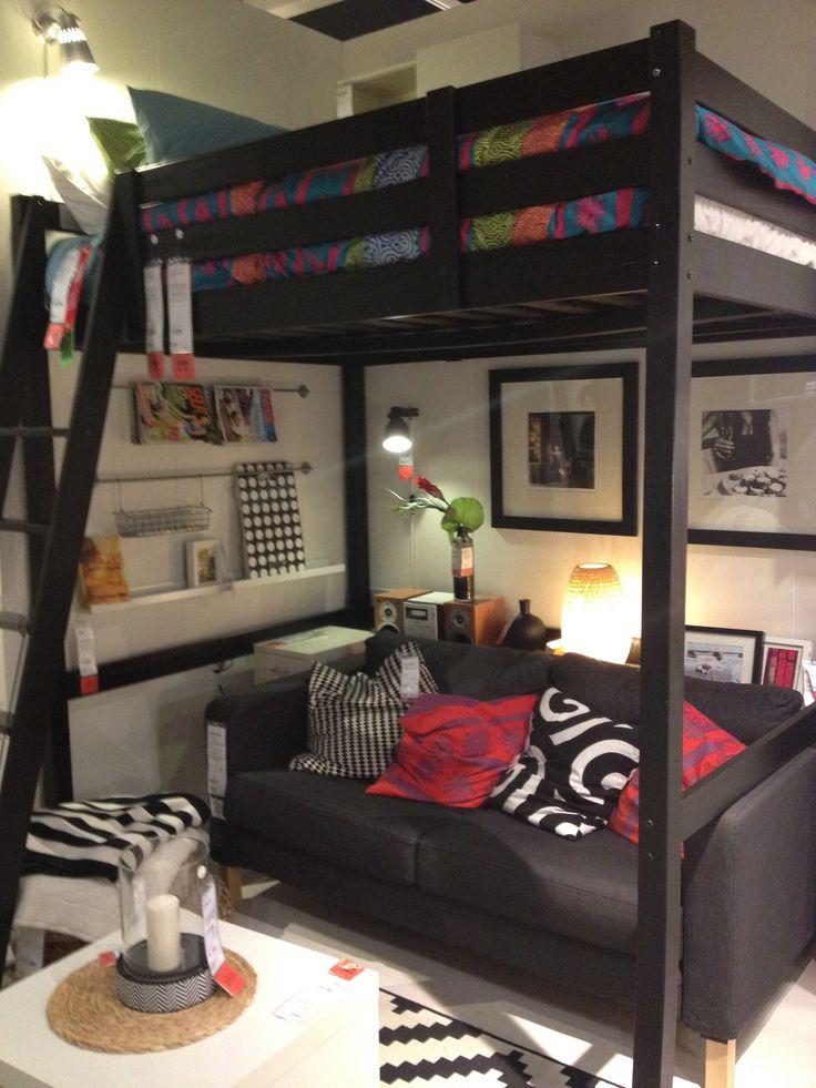 Stora Loft Bedframe Full Double 299 Ikea Room