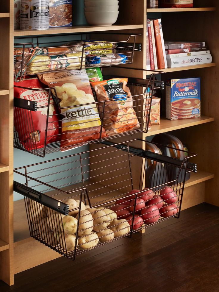 Pantry Options and Ideas for Efficient Storage | Kitchen Designs – Kitchen Layouts & Remodeling Materials | HGTV