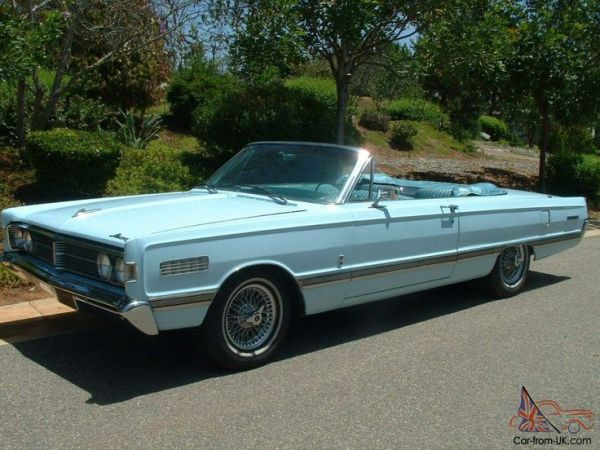 1966 Mercury Parklane Convertible | Lincoln - Mercury ...