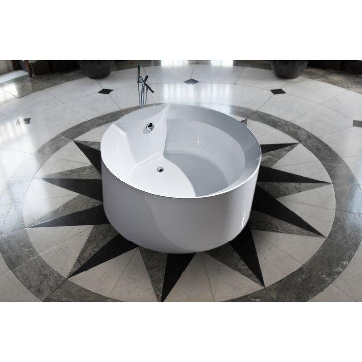 1000 Ideas About Acrylic Tub On Pinterest Freestanding