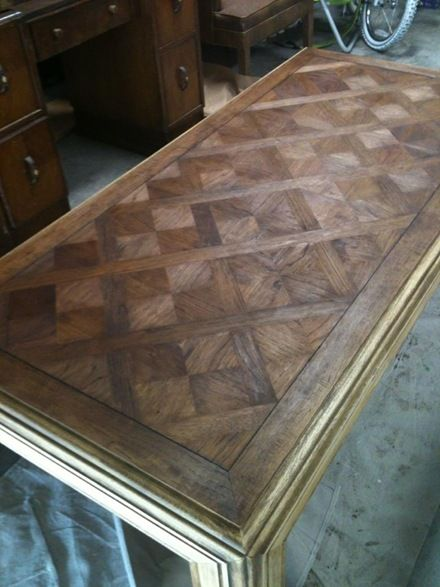 17 Best Images About Parquet Table Top On Pinterest